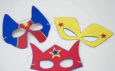 万圣节面具制作方法